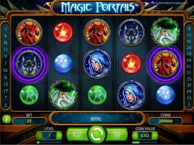 Magic Portals Slot Game big