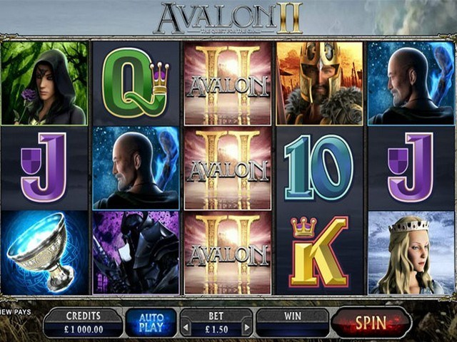 Avalon II Slot Game
