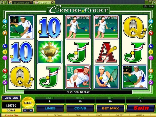 Centre Court Slot Game