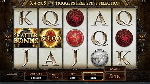 Game of Thrones Slot Game