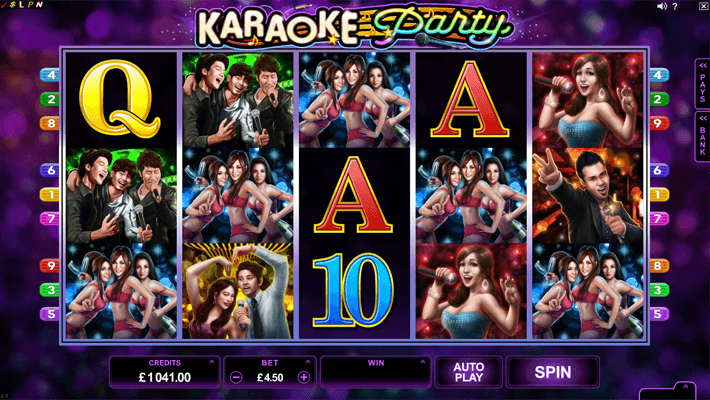 Karaoke Party Slot Game