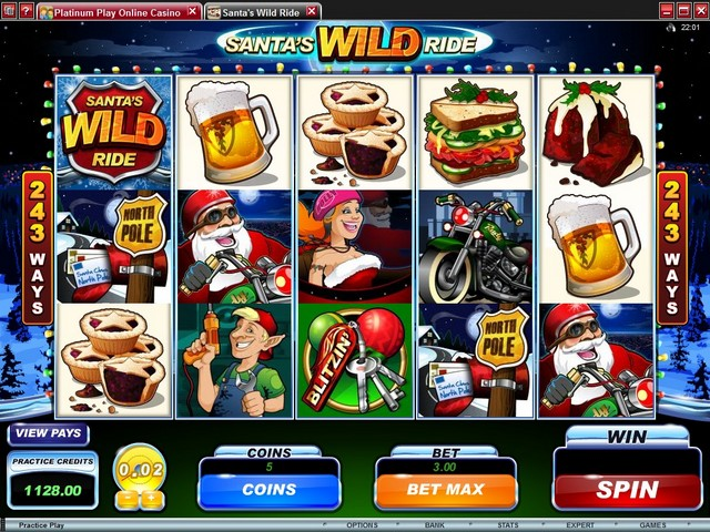 Santa's Wild Ride Slot Game