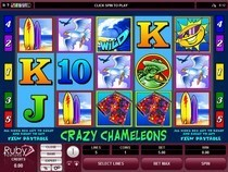 Crazy Chameleons Slot Game