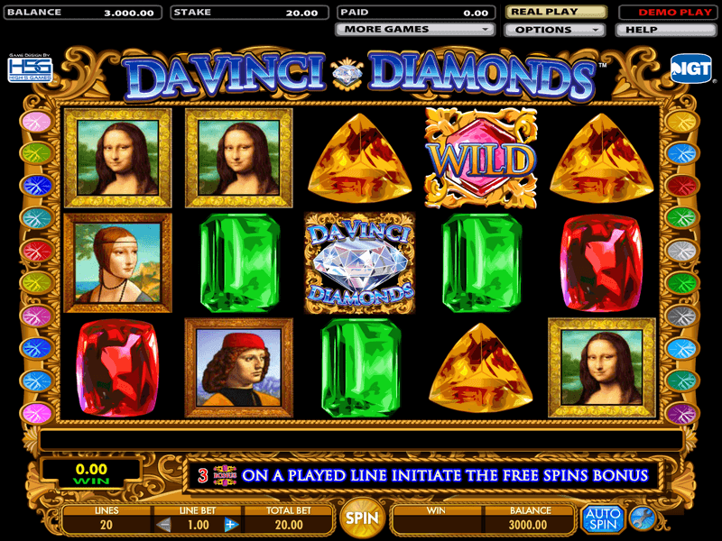 Spiele Da Vinci - Video Slots Online