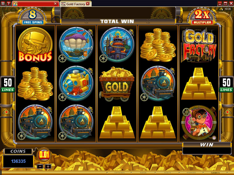 online slot games extra gold