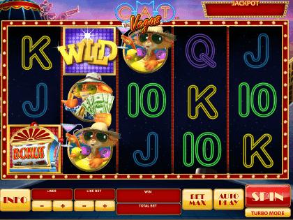 Cat In Vegas Slot Machine
