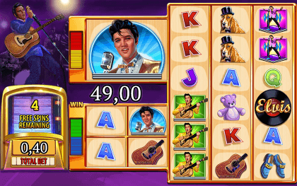 Become the King with Elvis King Slot