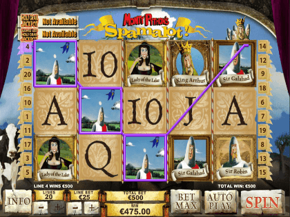 Play Monty Python's Spamalot Slots Online at Casino.com Canada