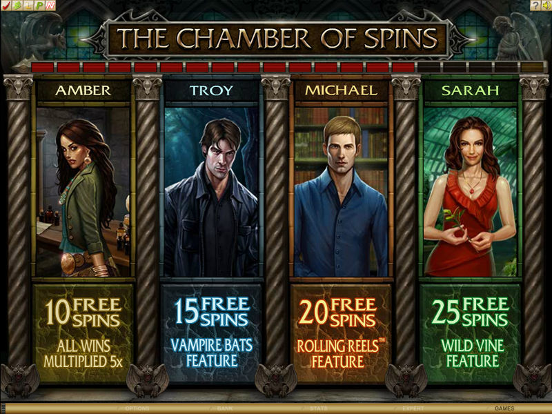 Immortal Romance - a slot with charismatic vampires