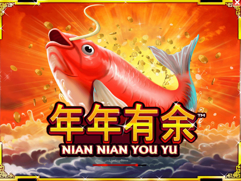 Play Nian nian you yu online slots at Casino.com